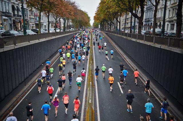 Przygotowania do biegu w maratonie